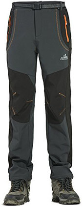 Moncey Mens Waterproof Soft Shell Tactical Pants Outdoor