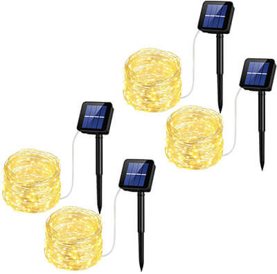 Mpow Solar String Lights, Waterproof Decorative String Lights