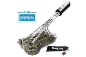 Top 10 Best BBQ Grill Brushes in 2018 Reviews