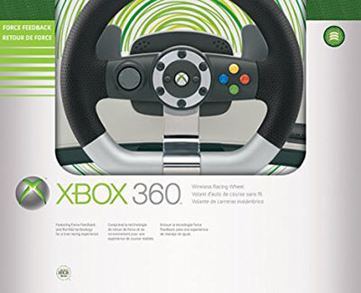 Microsoft Xbox 360 Wireless Racing Wheel