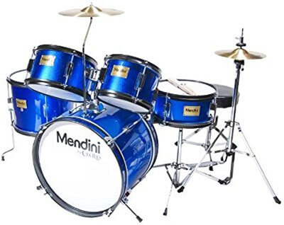Mendini Cecilio 16 inches 5-Piece Complete Kids Drum Set