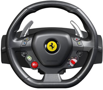 Thrustmaster Xbox 360 Ferrari 458 Racing Wheel