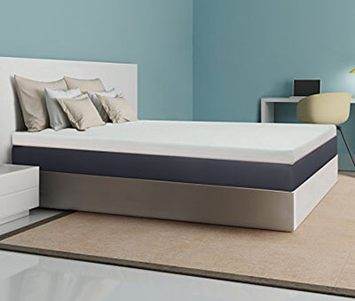 Best Price Mattress 4-In Memory Foam Mattress Topper – Queen