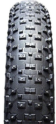VEE TIRE & RUBBER Snow Shoe XL Studded Fat Bike Tire, 26x4.8-Inch