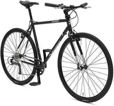 Retrospec Bicycles AMOK V2 CycloCross 9-Speed/Commuter Bike, Chromoly Frame