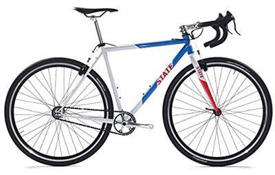 State Bicycle Offroad Division Cyclocross Standard Bike, 1-Speed