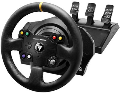 Thrustmaster VG TX Racing Official Xbox One Racing Wheel for Xbox One and PC