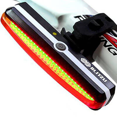 Blitzu Cyborg 168T USB Bike Tail Light