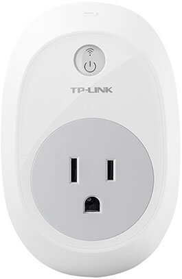TP-Link Smart Plug, Wi-Fi, Control Your Devices from Anywhere
