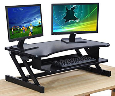 The House of Trade Standing Desk Raiser, Adjustable Height