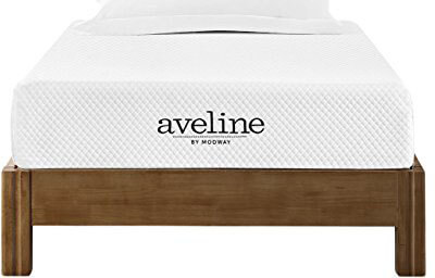 Modway Aveline Gel Infused Memory Foam 8 inches Twin Mattress, CertiPUR-US Certified