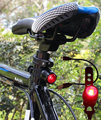 Gilramco USB Rechargeable Bike Tail Light