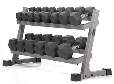 XMark Fitness Hex Dumbbells
