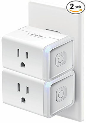 KMC WiFi Smart Plug Mini Outlet, Timing Switch Energy Monitoring Smart Socket