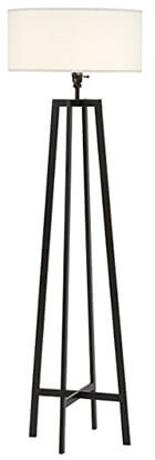 Stone & Beam Deco Black Metal Floor Lamp, 59.5 Inch Height
