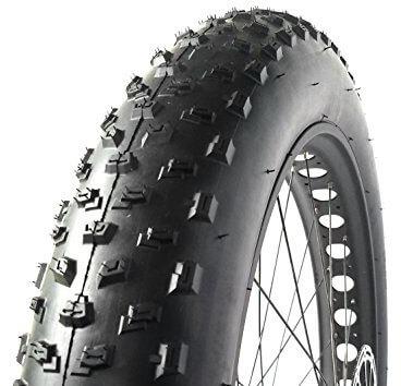 Moosetreks Fat Bike Tire 26 x 4.0-Inch All-Terrain Tread Tire