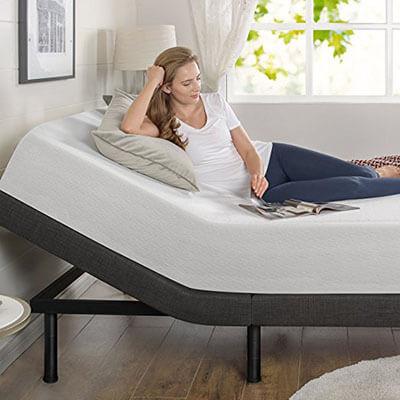 Zinus Smart Adjustable Bed Frame, Mattress Foundation