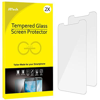 JETech Tempered Glass Screen Protector for iPhone X