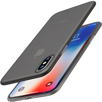 TOZO for iPhone X Case, Ultra-Thin Hard Cover