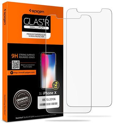 Spigen Tempered Glass iPhone X Screen Protector