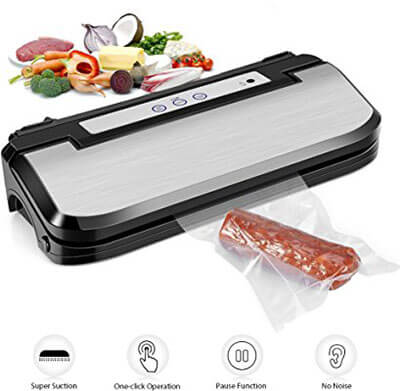 Ymiko Food Sealer Sous Vide Machine Automatic Vacuum Sealing System