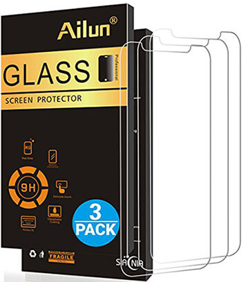AILUN iPhone X Glass Screen Protector, Anti-Scratch