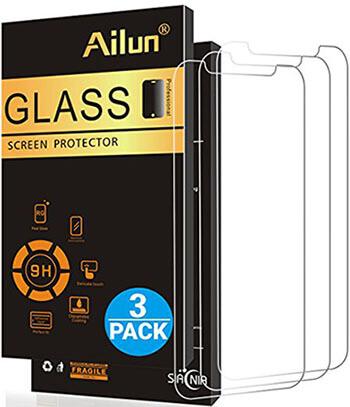 AILUN iPhone X Glass Screen Protector, Anti-Scratch