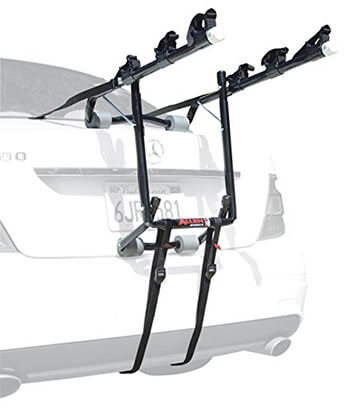 Allen Sports Deluxe Three-Bike Trunk Mount Rack