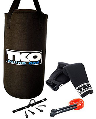 By TKO All- Purpose 4 Piece Heavy Bag Set