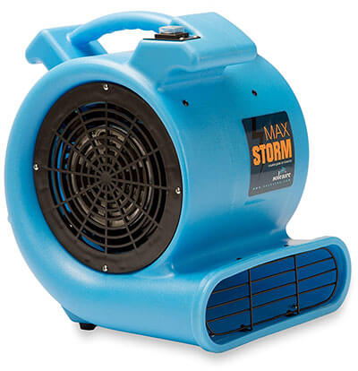 Max Storm 2550 CFM, 1/2 HP Durable Lightweight Air Mover Carpet Dryer Blower