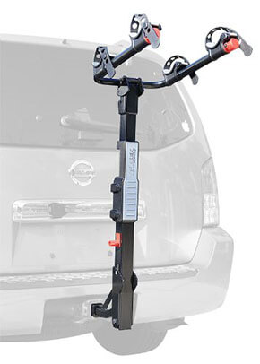 Allen Sports Premier Hitch Mounted Two-Bike Carrier