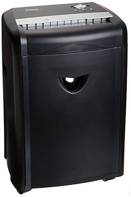 AmazonBasics Micro-Cut Paper Shredder