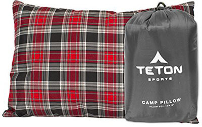 Teton Sports Camping Pillow