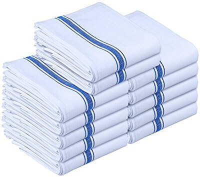 Utopia Towels Kitchen Towels 12 Pack Dish Cloth Machine Washable