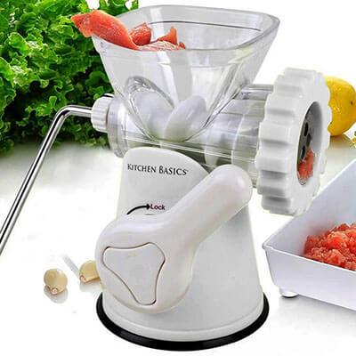 F&W Kitchen Basics Meat Grinder and Vegetable Grinder and Sausage Stuffer