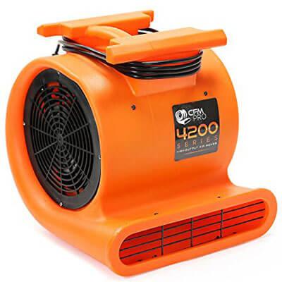 CFM PRO 1 HP Blower Air Mover Carpet Floor Dryer 3 Speed