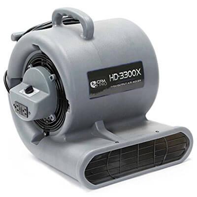 CFM PRO Air Mover Carpet Floor Dryer 3 Speed