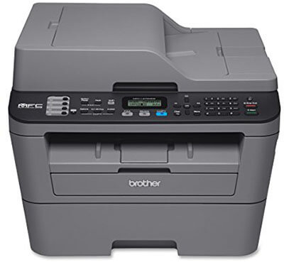 Brother MFCL2700DW All-in-One Laser Printer with Wireless Networking and Duplex Printing