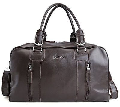 Tiding Nappa Leather Gym Bag