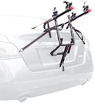 Allen Sports 2-Bike Trunk Mount Rack, 2-Bike