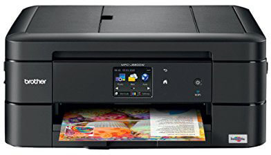 Brother Printer MFC-J680DW Wireless Color Photo Inkjet Printer, Scanner, Copier and Fax