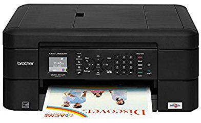 Brother Printer MFCJ460DW Wireless Color All in one Inkjet Printer with Copier & Fax, Scanner
