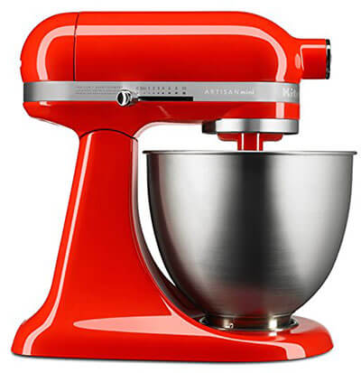 KitchenAid KSM3311XHT Artisan Mini-Series Stand Mixer
