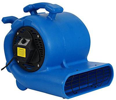 MOUNTO 3-Speed3000CFM Air Mover Floor Carpet Dryers, 3/4HP