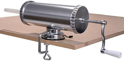 Goplus Horizontal Stainless Steel Sausage Stuffer Maker