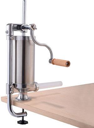 Super Buy Goplus Vertical Sausage Stuffer Maker, Stainless Steel
