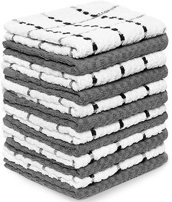 "Royal Kitchen Towels, 100% Soft Cotton, 12 Pack 15"" x 25"""