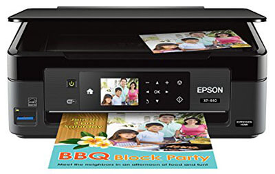 Epson Expression Home XP-440 Wireless Color Photo Printer, Scanner, Copier