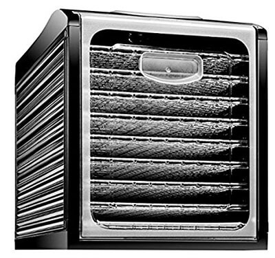 Chefman Professional Electric Multi-Tier Food Dehydrator Machine/ Preserver, 9 Slide Out Trays