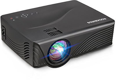 RockBirds GP10 Portable Projector